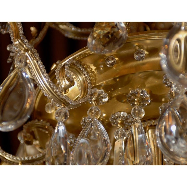 Jansen Antique Chandelier - Image 7 of 8