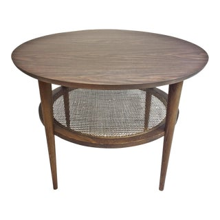 Mid Century Modern Round Side Table by Lane