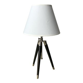 1990s Vintage Ralph Lauren for Visual Comfort Tripod Lamp For Sale