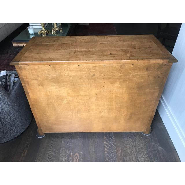 Finish: Antique Distressed Walnut Finish Condition: Excellent- like new