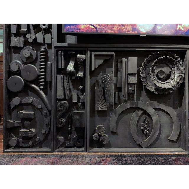 Gt Atelier Custom Tv Art Wall by the Golden Triangle Chicago For Sale - Image 4 of 13