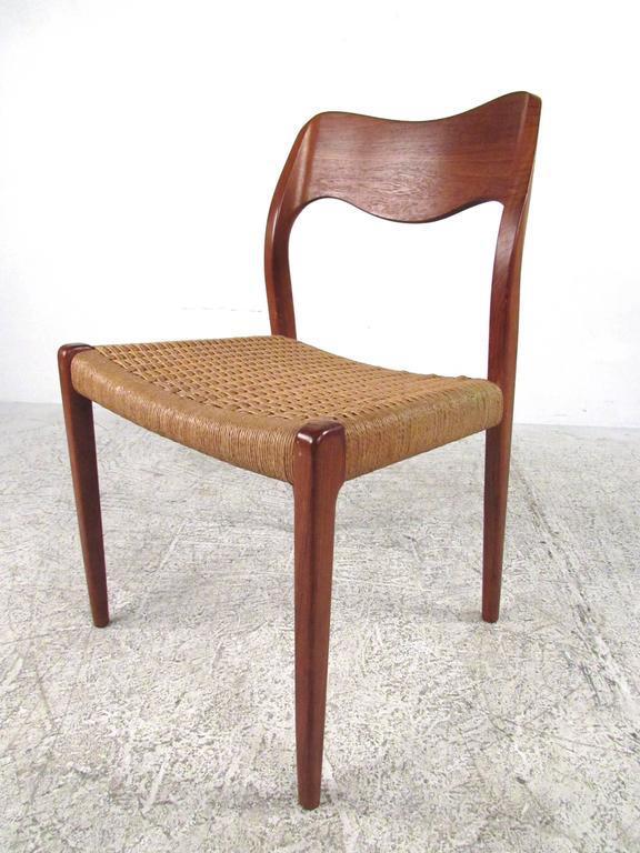Niels Moller Danish Teak Dining Chairs   Set Of 6   Image 2 Of 11