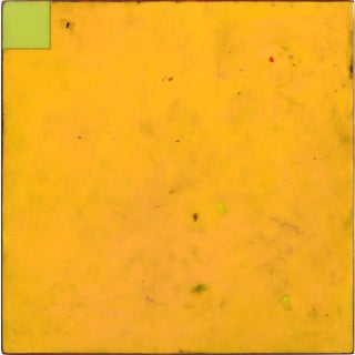 """""""Sunday Yellow 5"""" Original Artwork by Ricky Hunt For Sale"""