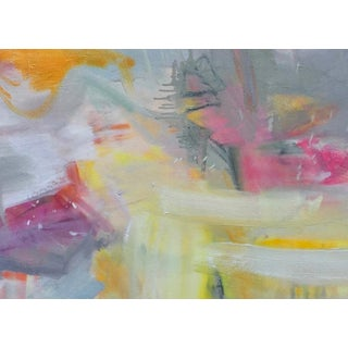 """""""Partially Sunny"""" by Trixie Pitts Abstract Expressionist Oil Painting Preview"""