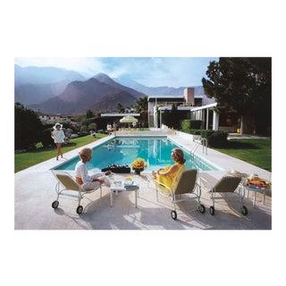 Original Slim Aarons Poolside Gossip Photographic Print For Sale