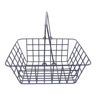 Wire Mesh Bathroom Toiletries Basket For Sale