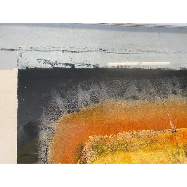 Mixed-Media Joni Pienkowski Mixed Media Painting For Sale - Image 7 of 13