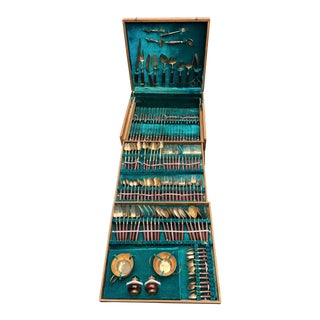 1950's Anderson & Lawler Bronzeware Bronze Utensils - Set of 149