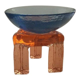 1980s Art Glass Sculpture For Sale