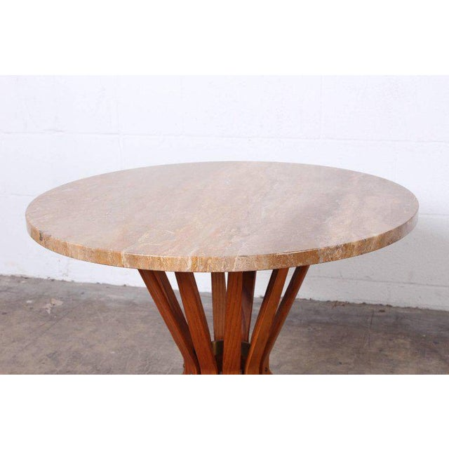 Stone Dunbar Sheaf of Wheat Table by Edward Wormley For Sale - Image 7 of 10