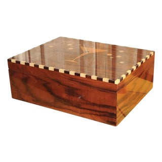 Art Deco Collection Custom-Made Humidor Desk Top Version For Sale