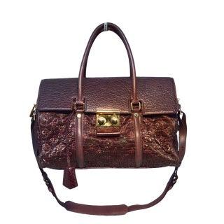 Louis Vuitton Limited Edition Monogram Volupte Bordeaux Psyche Bag For Sale