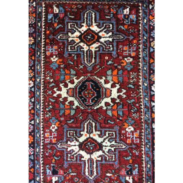 1930s-1940s Karaja Persian Mat For Sale - Image 4 of 13