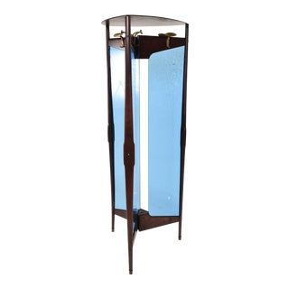 Mid-Century Modern Italian Coat Rack Room Divider After Ico Parisi For Sale