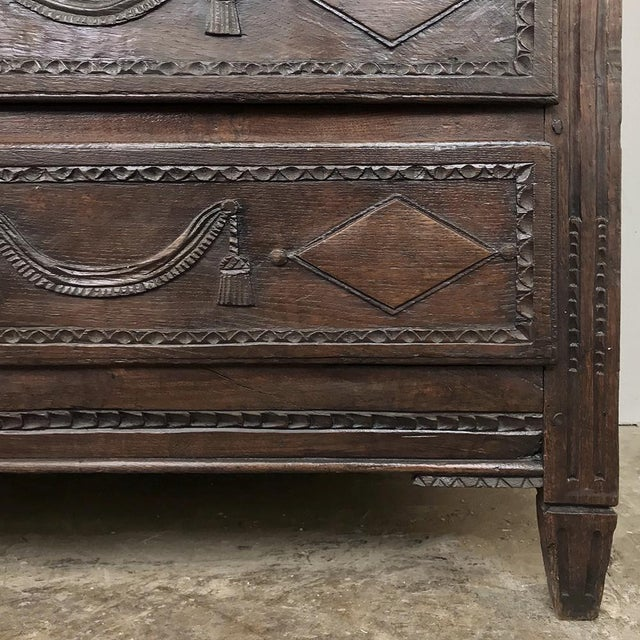 18th Century Country French Louis XVI Commode For Sale - Image 9 of 12