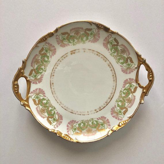 Antique Jean Pouyat Limoges Plate For Sale - Image 11 of 11