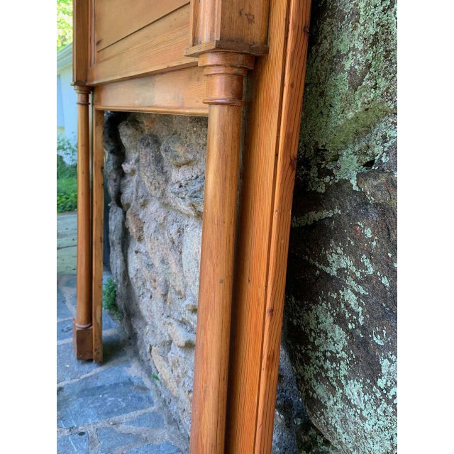 Early 19th Century Pine Fireplace Mantel For Sale - Image 9 of 13