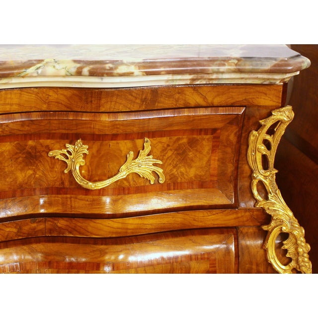 French Style Bombe Commodes- A Pair - Image 6 of 9