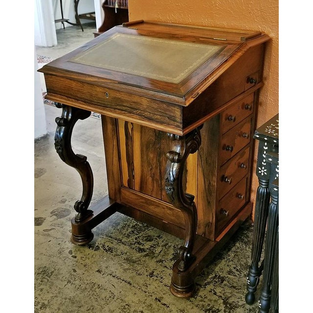 Early 19c British Davenport Desk in the Manner of Gillows For Sale - Image 11 of 13