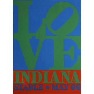 Robert Indiana LOVE, Stable 1971 Serigraph