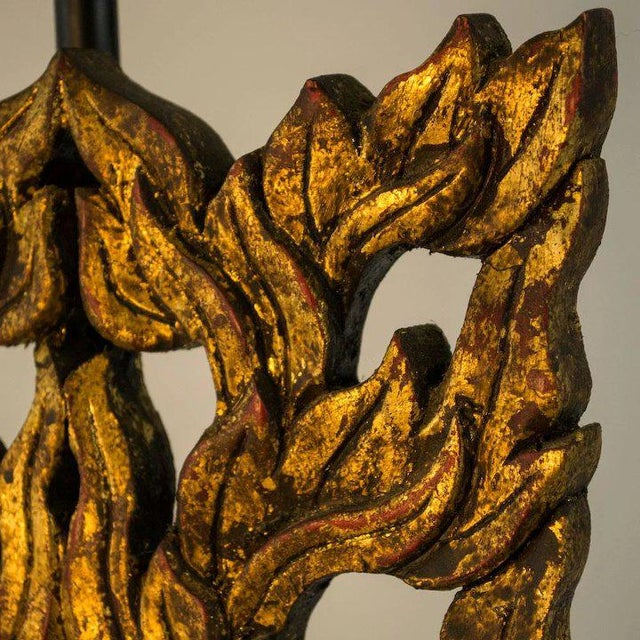 Late 19th Century Hand Carved Chinese Flame Fragments For Sale - Image 4 of 7