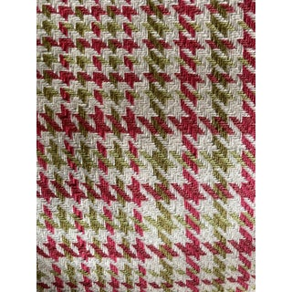 Transitional Style Houndstooth Fabric 8 Yards For Sale