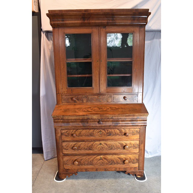 18th Century Antique Writing Cupboard For Sale - Image 11 of 11