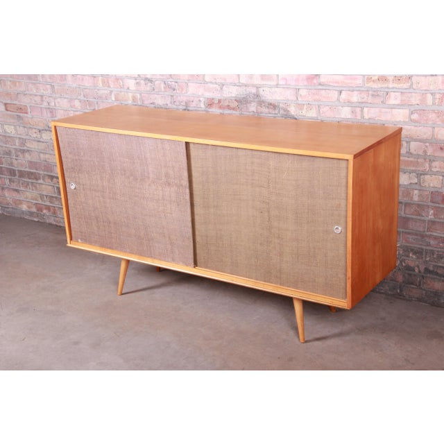 """A stunning original mid-century modern sideboard credenza or bar cabinet By Paul McCobb for Winchendon Furniture """"Planner..."""