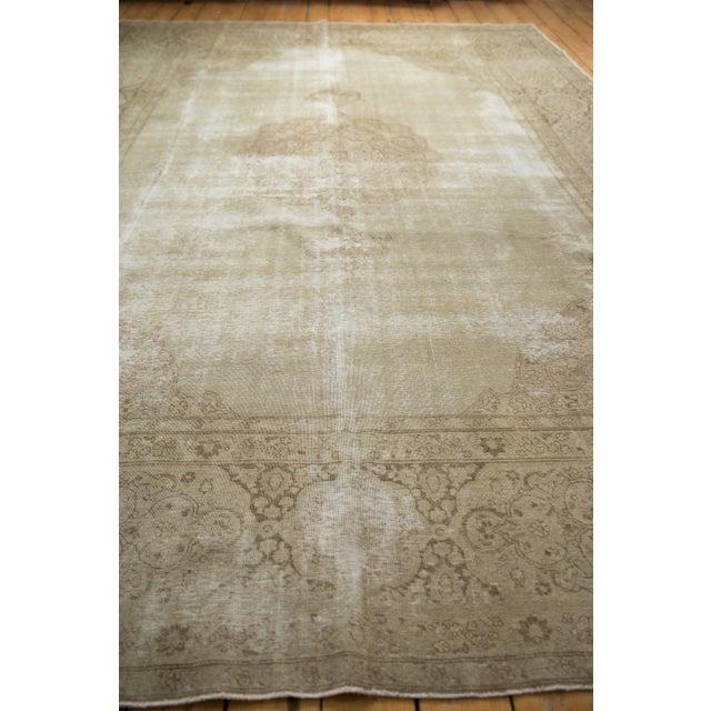 "Vintage Distressed Tabriz Carpet - 9' X 12'9"" For Sale In New York - Image 6 of 13"