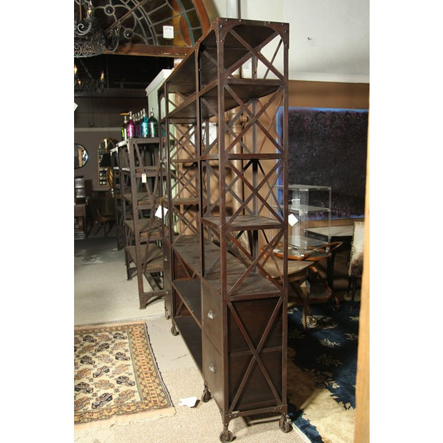 Entertainment Unit Made of Wood and Steel - Image 4 of 9