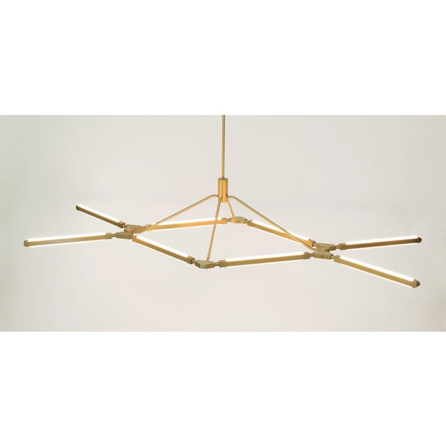 Modern Pelle Pris Crown Chandelier For Sale - Image 3 of 5