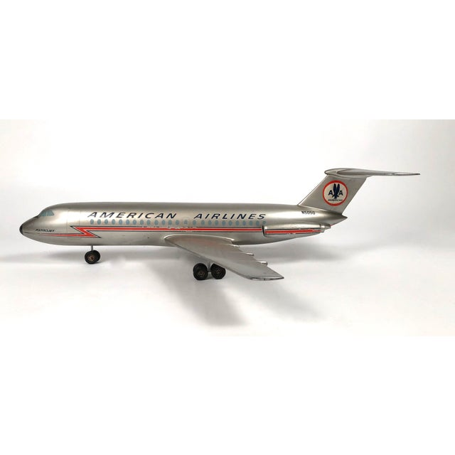 American Airlines Vintage American Airlines Astrojet Aviation Model For Sale - Image 4 of 10