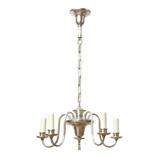 Small Silver Chandelier For Sale