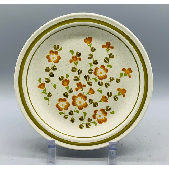 French Vintage Country Mismatched Salad Plates - Set of 5 For Sale - Image 3 of 12