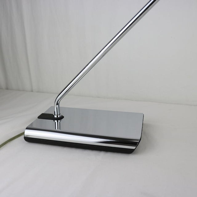 Koch & Lowy Chrome Articulated Desk Lamp 1970's - Image 2 of 11