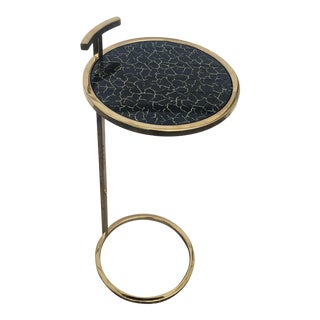 Gold and Black Cocktail Table For Sale