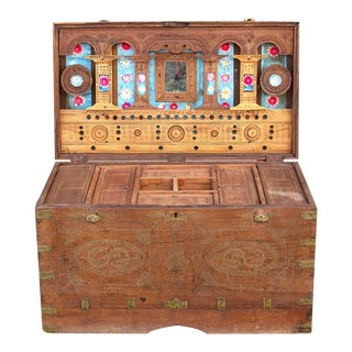Mehsana Antique Dowry Trunk For Sale