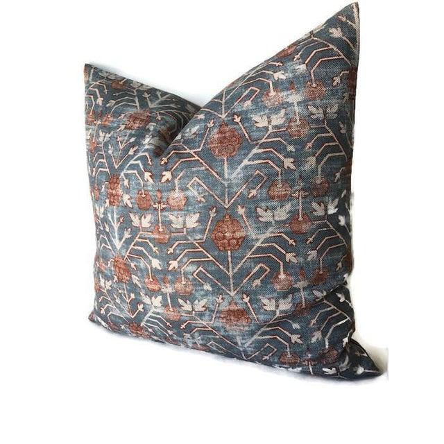 Boho Chic Patterned Zak & Fox Khotan Pillow Cover For Sale - Image 3 of 5