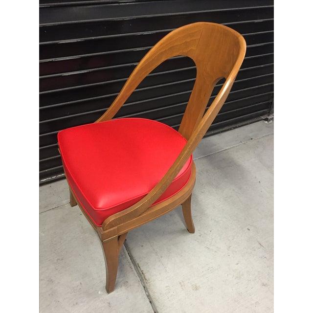 Vintage Mid-Century Modern Teak Chair - Image 6 of 9