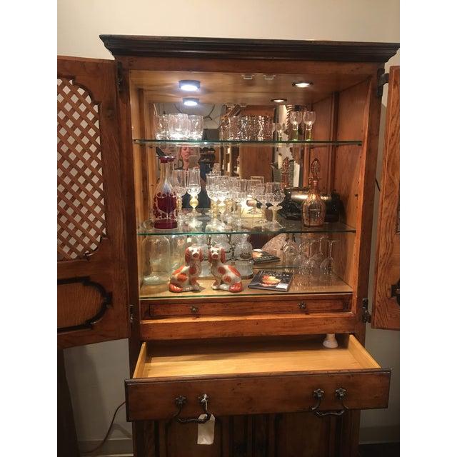 Sarreid Ltd. Traditional Sarried Marbella Cabinet For Sale - Image 4 of 12