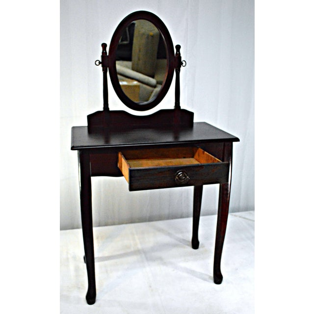 Cuban Mahogany Vanity For Sale - Image 4 of 10