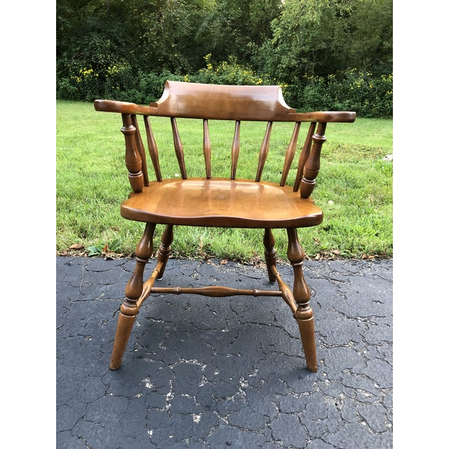 Pennsylvania House Barrel Back Captains Chair (Large) Great Condition!