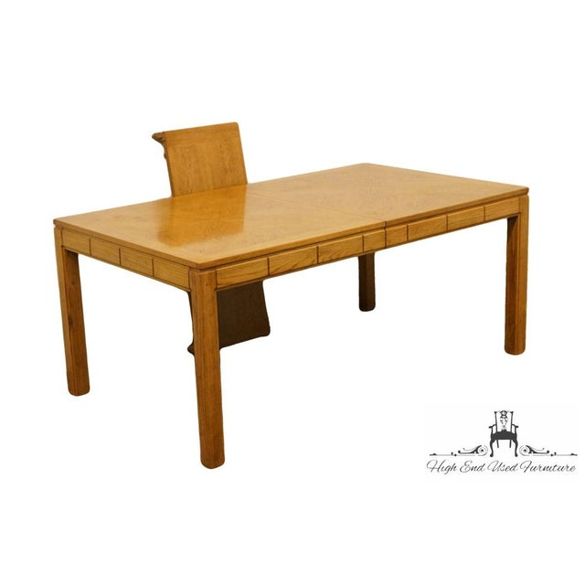 "Thomasville Furniture New Country Collection 84"" Dining Table For Sale In Kansas City - Image 6 of 13"