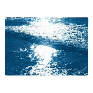 "2020 Cyanotype ""Pacific Sunset Waves"" by Kind of Cyan For Sale"