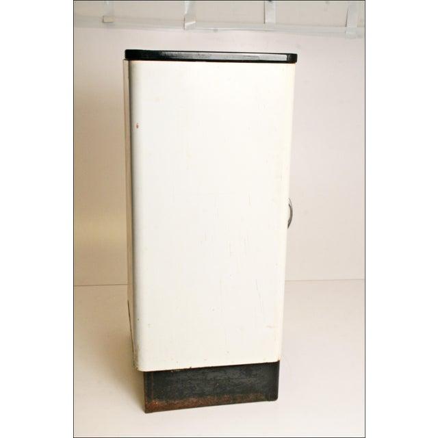 Mid-Century Enamel Top Metal Storage Cabinet - Image 3 of 11