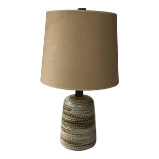 Marshall Studios Martz Teak & Ceramic Table Lamp