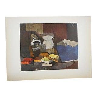 Vintage Mid 20th Century Lithograph-Roger De La Fresnaye-Folio Size For Sale