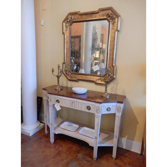 Early 19th C Painted Directoire' Console For Sale - Image 10 of 10