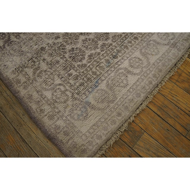 Indian Antique Indian Agra Rug For Sale - Image 3 of 10