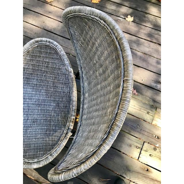 Mid Century Modern Salterini Clam Shell Chair For Sale - Image 9 of 10